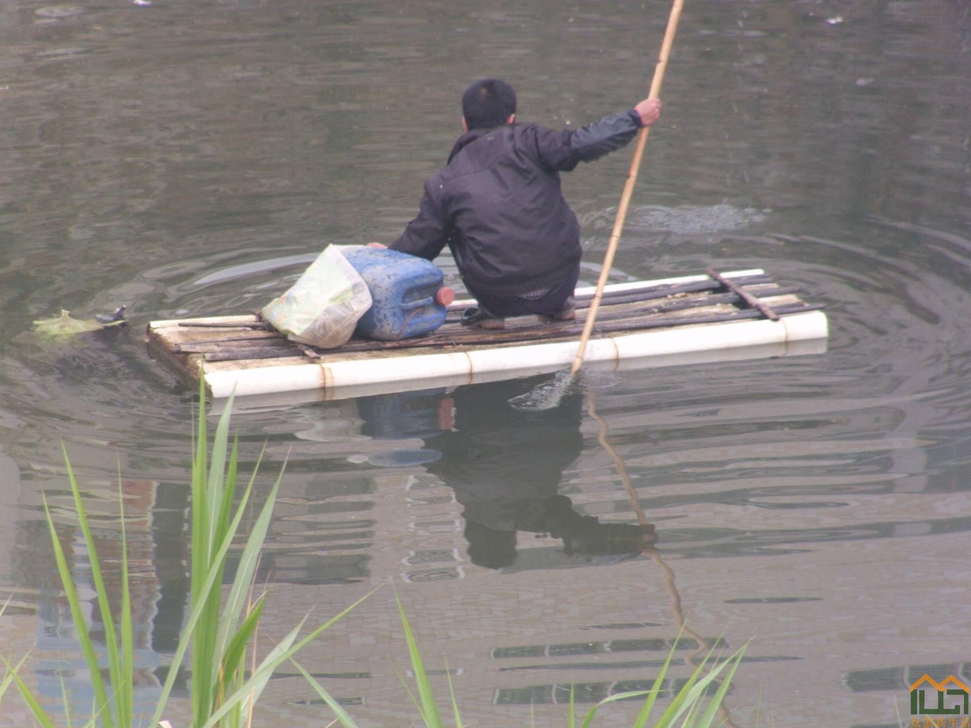 渔人宛在水中央
