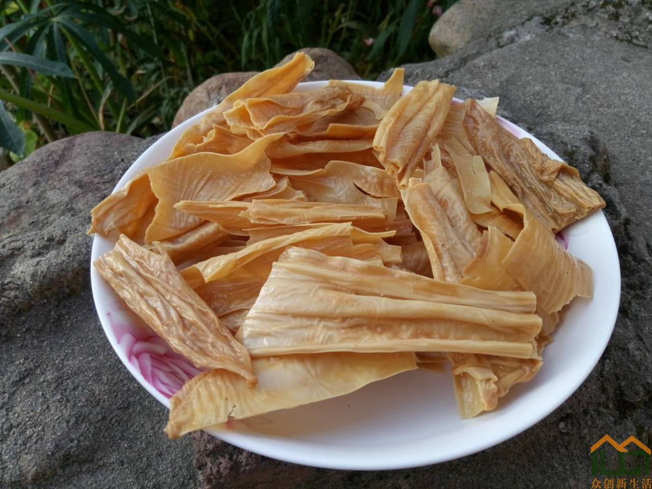 客家传统美食:豆腐支(腐竹)