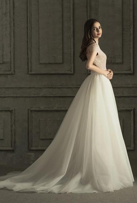 当旗袍遇到婚纱,竟然可以碰撞出如此的美丽,太惊喜了